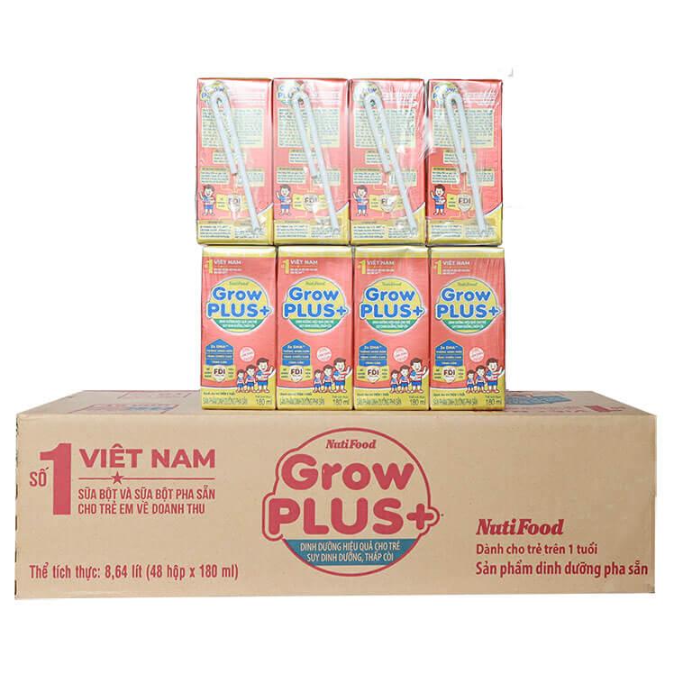 Sữa công thức pha sẵn Nuti Grow Plus+