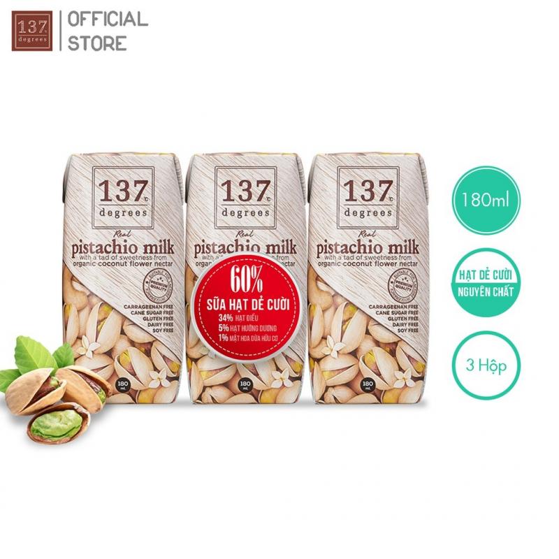 Sữa hạt dẻ cười nguyên chất 137 DEGREES