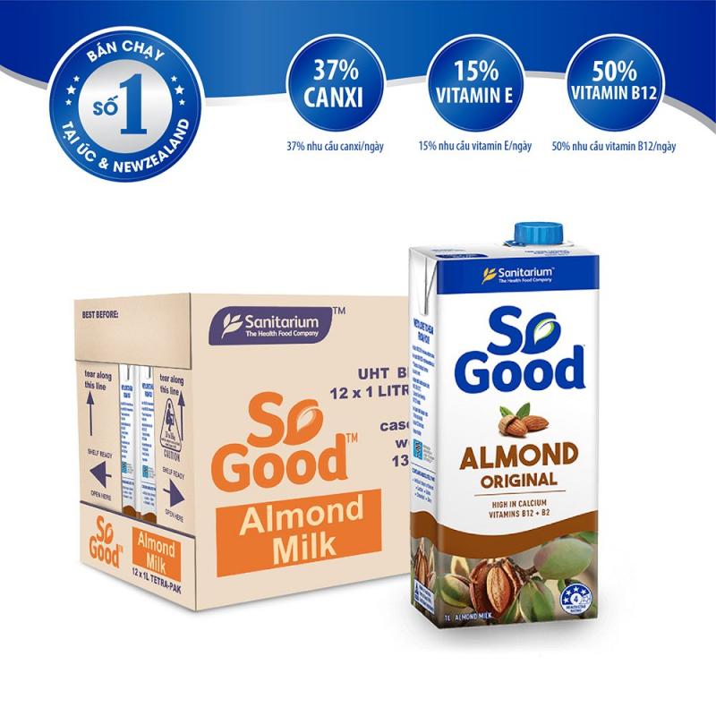 Sữa hạt hạnh nhân So Good