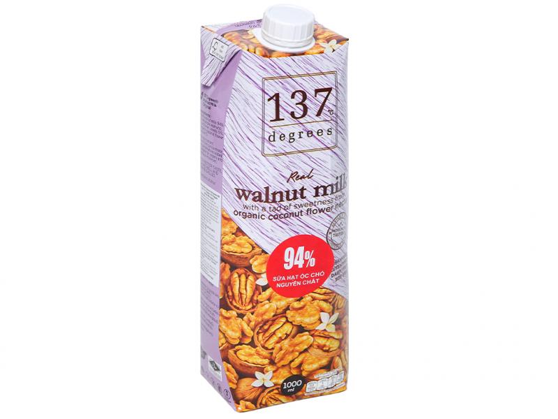 Sữa hạt óc chó nguyên chất 137 DEGREES