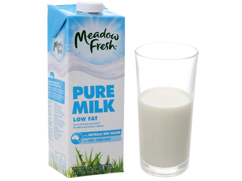 Sữa tươi tiệt trùng ít béo Meadow Fresh