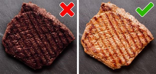 Thịt nướng gây hại cho da