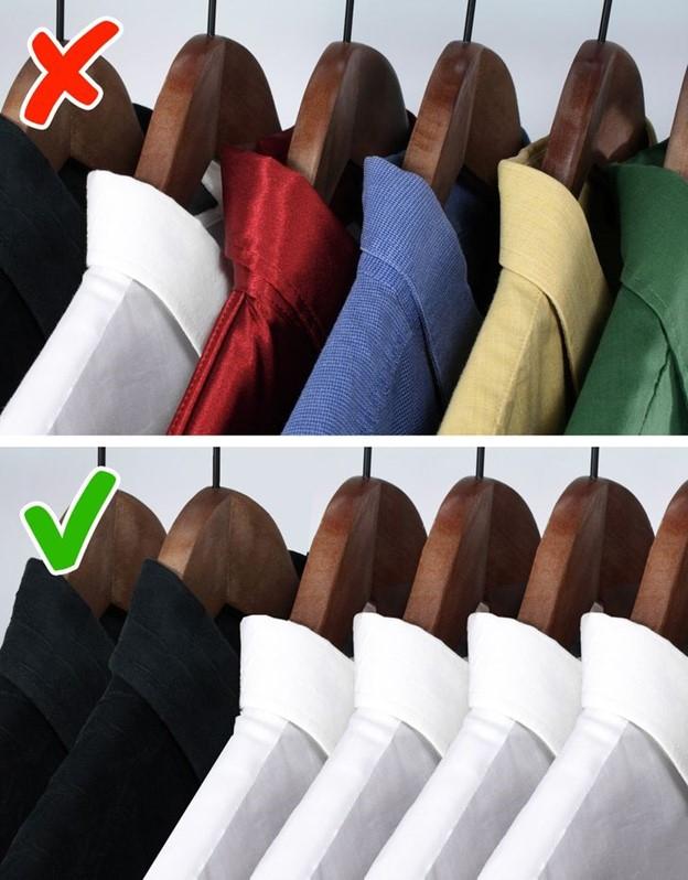 Tốn thời gian cho việc chọn quần áo