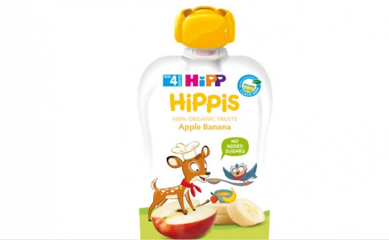 Trái cây nghiền hữu cơ HiPPiS Organic