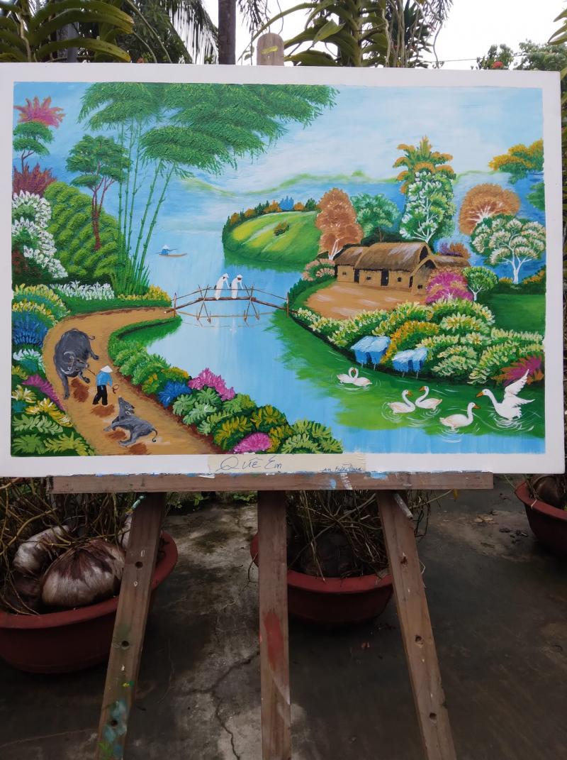 Trung tâm luyện vẽ An Bằng Đung