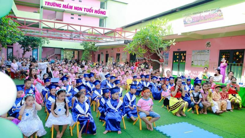 Trường Mầm non chất lượng cao Tuổi Hồng Đông Hà