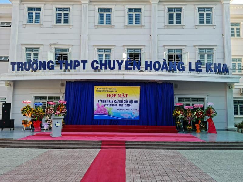 Trường THPT Chuyên Hoàng Lê Kha