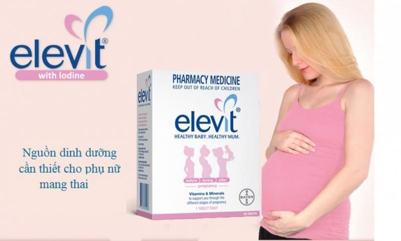 Vitamin tổng hợp cho bà bầu Elevit