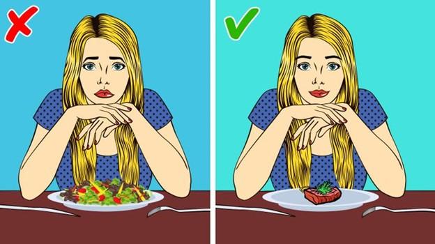 Ăn thịt hay pho mát