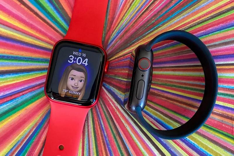Apple Watch Series 6 GPS 40mm viền nhôm dây cao su