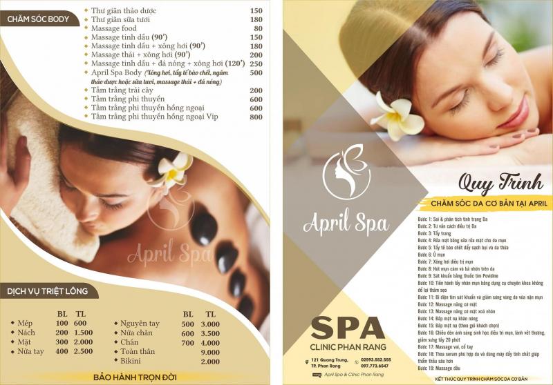 April Spa & Clinic Phan Rang