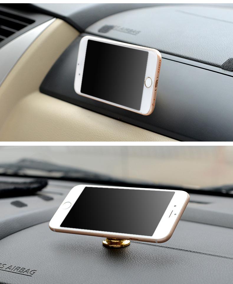 Bộ đế hít nam châm giá đỡ điện thoại trên xe hơi, ô tô 360 độ - Hàng nhập khẩu