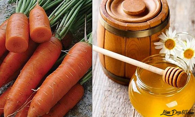 Cách làm nước ép cà rốt mật ong