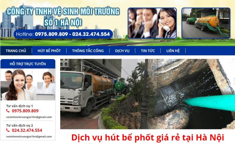 Công ty TNHH vệ sinh môi trường số 1 Hà Nội