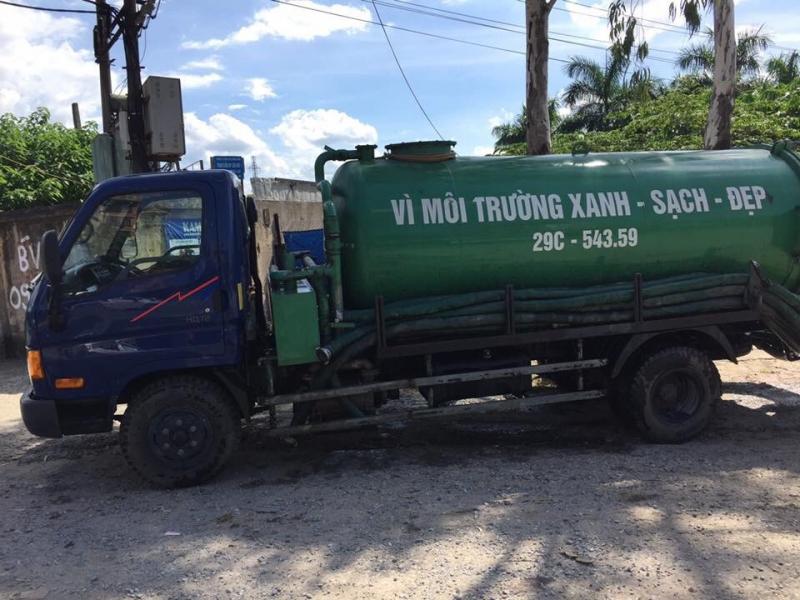 Công ty thông tắc bể phốt Bảo Minh