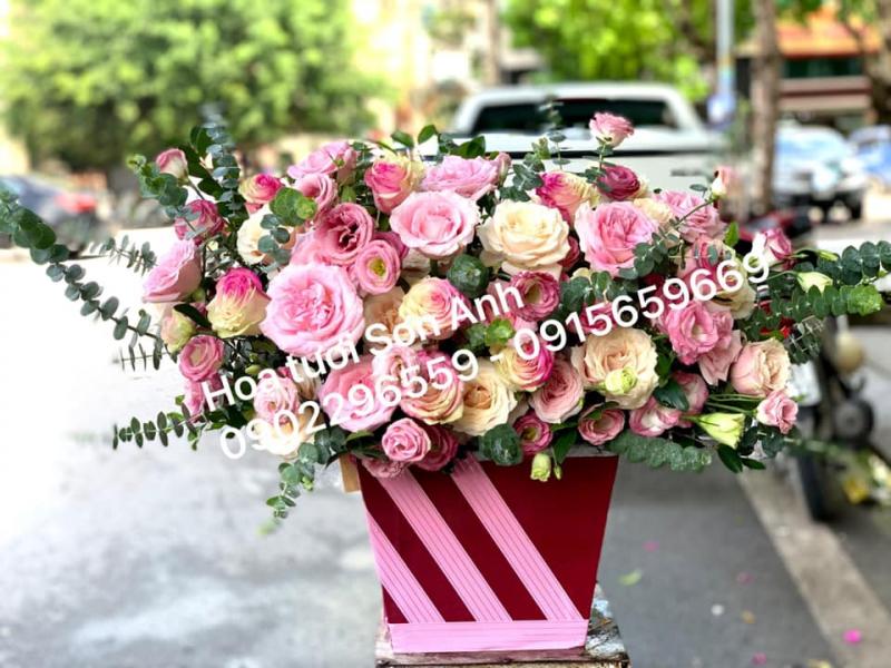 Cửa hàng điện hoa Sơn Anh