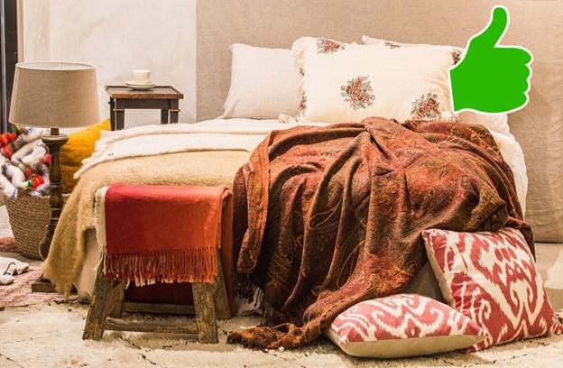 Dọn dẹp giường sạch sẽ