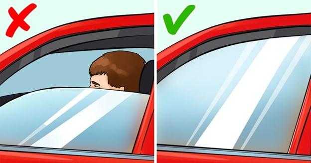 Đóng cửa sổ xe hơi