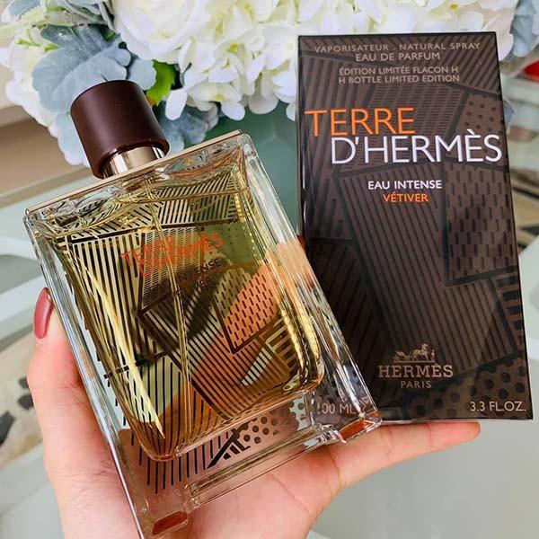 Hermes Terre D'Hermes Eau Intense Vetiver Limited Edition 100ml