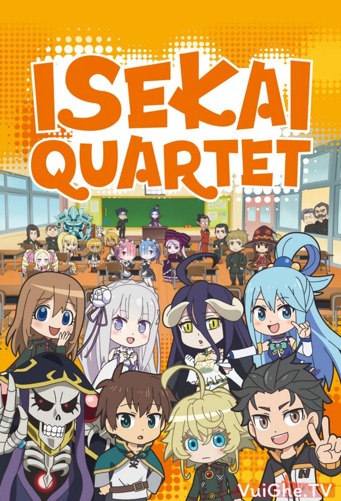Isekai Quartet - Bộ tứ dị giới