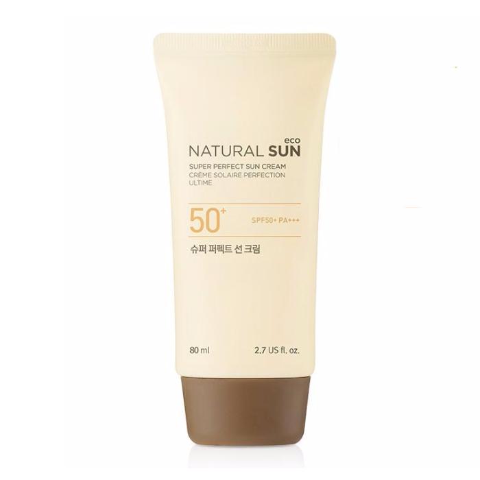 Kem Chống Nắng NATURAL SUN ECO SUPER PERFECT SUN CREAM SPF50+ PA+++ 80ml