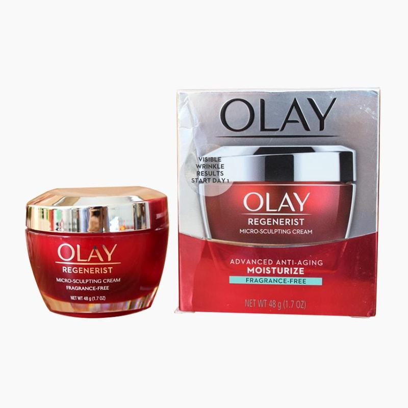 Kem dưỡng độ ướt chống lão hóa Olay Regenerist Micro-Sculpting Cream 48g