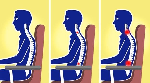 Kiểm tra giá đỡ thắt lưng của ghế và nếu nó không có, hãy tự tạo