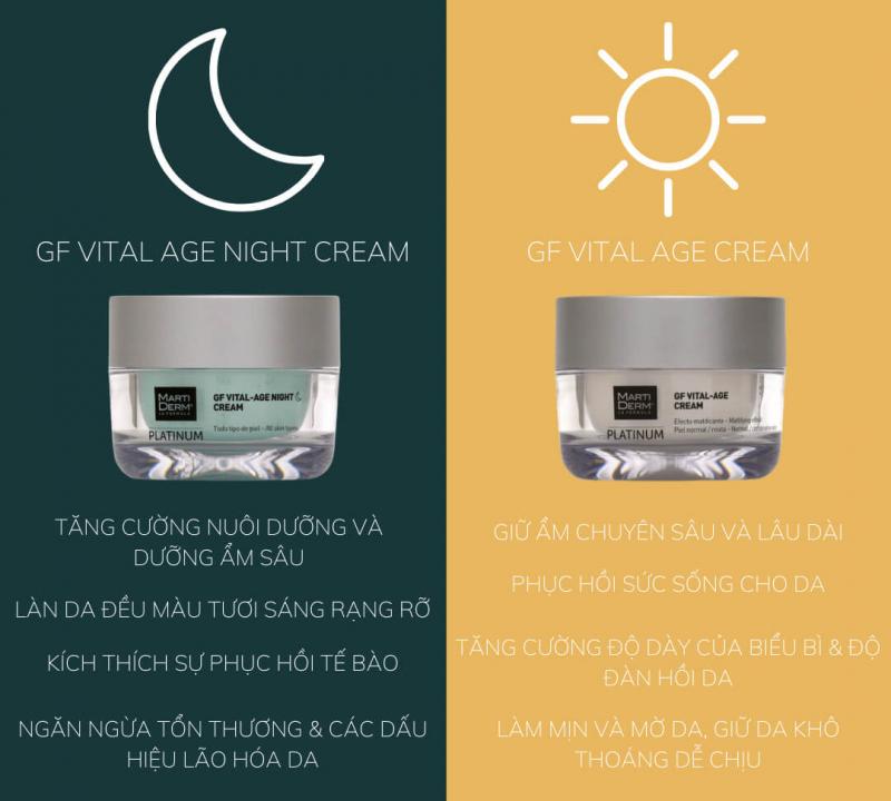 MartiDerm Platinum GF Vital Age Night Cream