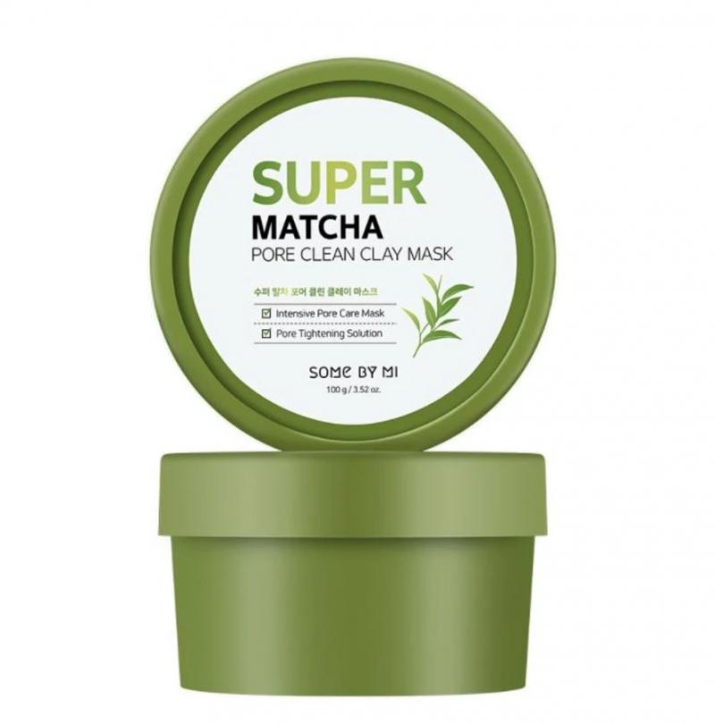 Mặt Nạ Đất Sét Some By Mi Super Matcha Pore Clean Clay Mask 100g