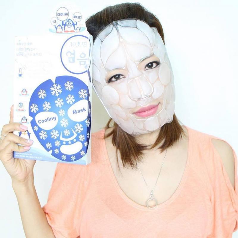 Mặt nạ đá dưỡng da mát lạnh DKCC ice cooling mask