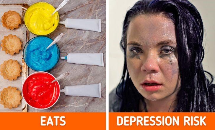 Màu thực phẩm, ngay cả những thứ vô hại nhất