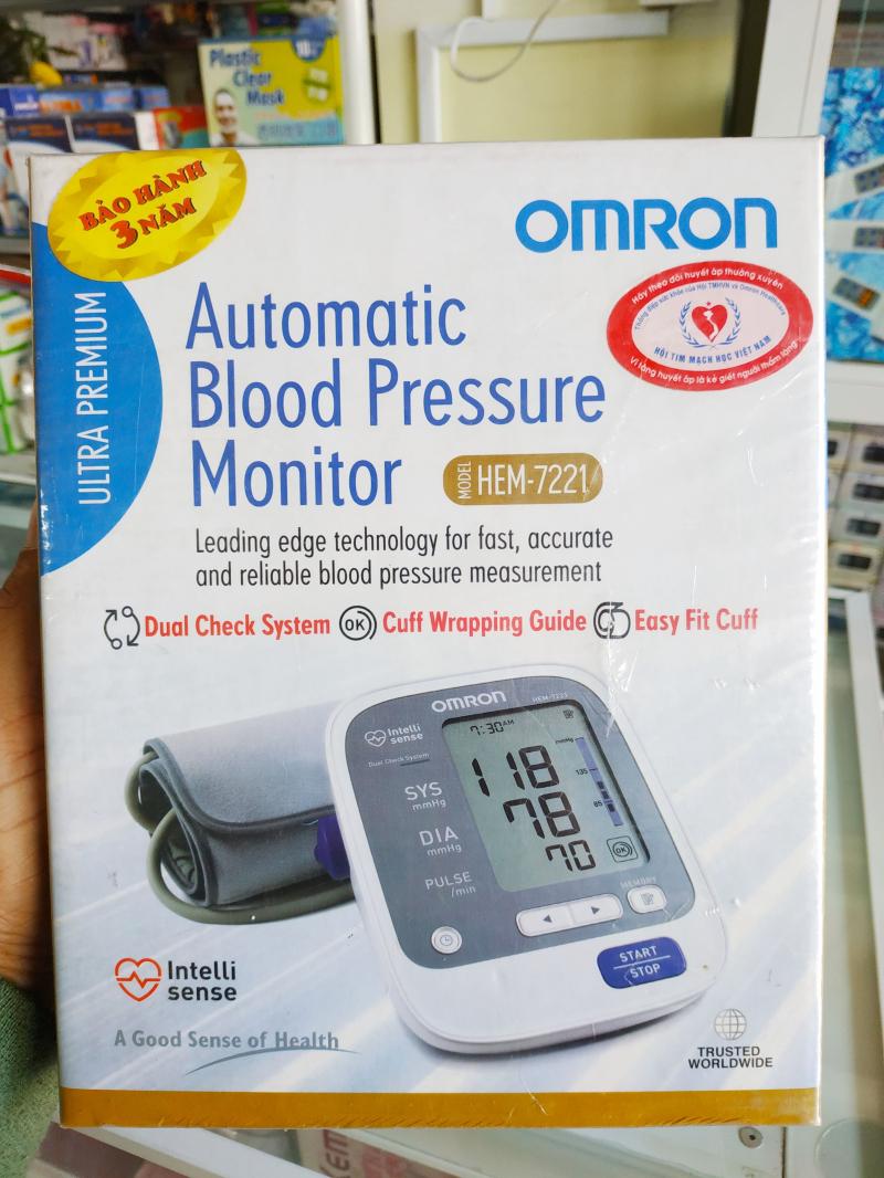Máy đo huyết áp Omron HEM-7221
