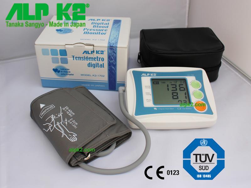 Máy đo huyết áp bắp tay ALPK2 K2-1702