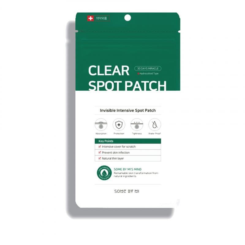 Miếng Dán Hỗ Trợ Trị Mụn Some By Mi Clear Spot Patch 18pcs
