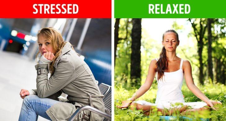 Mức độ căng thẳng của bạn giảm xuống