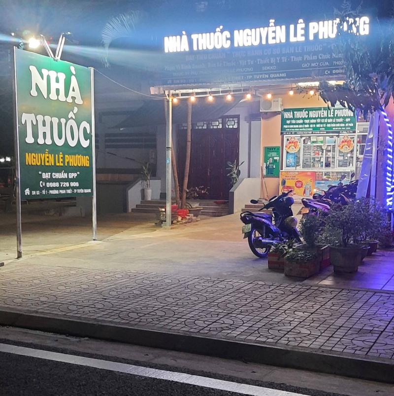 Nhà thuốc Nguyễn Lê Phương