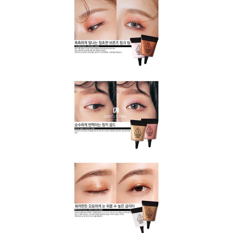 Nhũ Mắt 3CE Sparkling Liquid Pigment