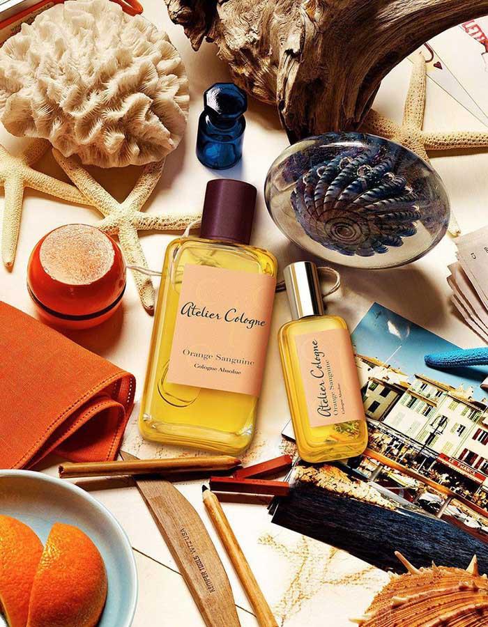 Nước Unisex Hoa Atelier Cologne Orange Sanguine EDC 30ml