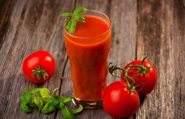 Nước ép cà chua và dứa