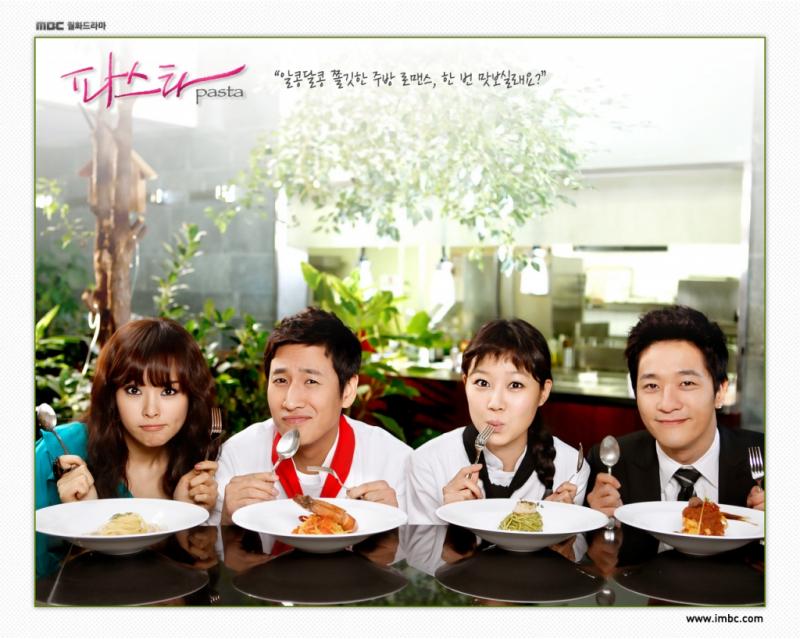 Phim về ẩm thực Hàn Quốc: Hương vị mối tình – Pasta (2010)
