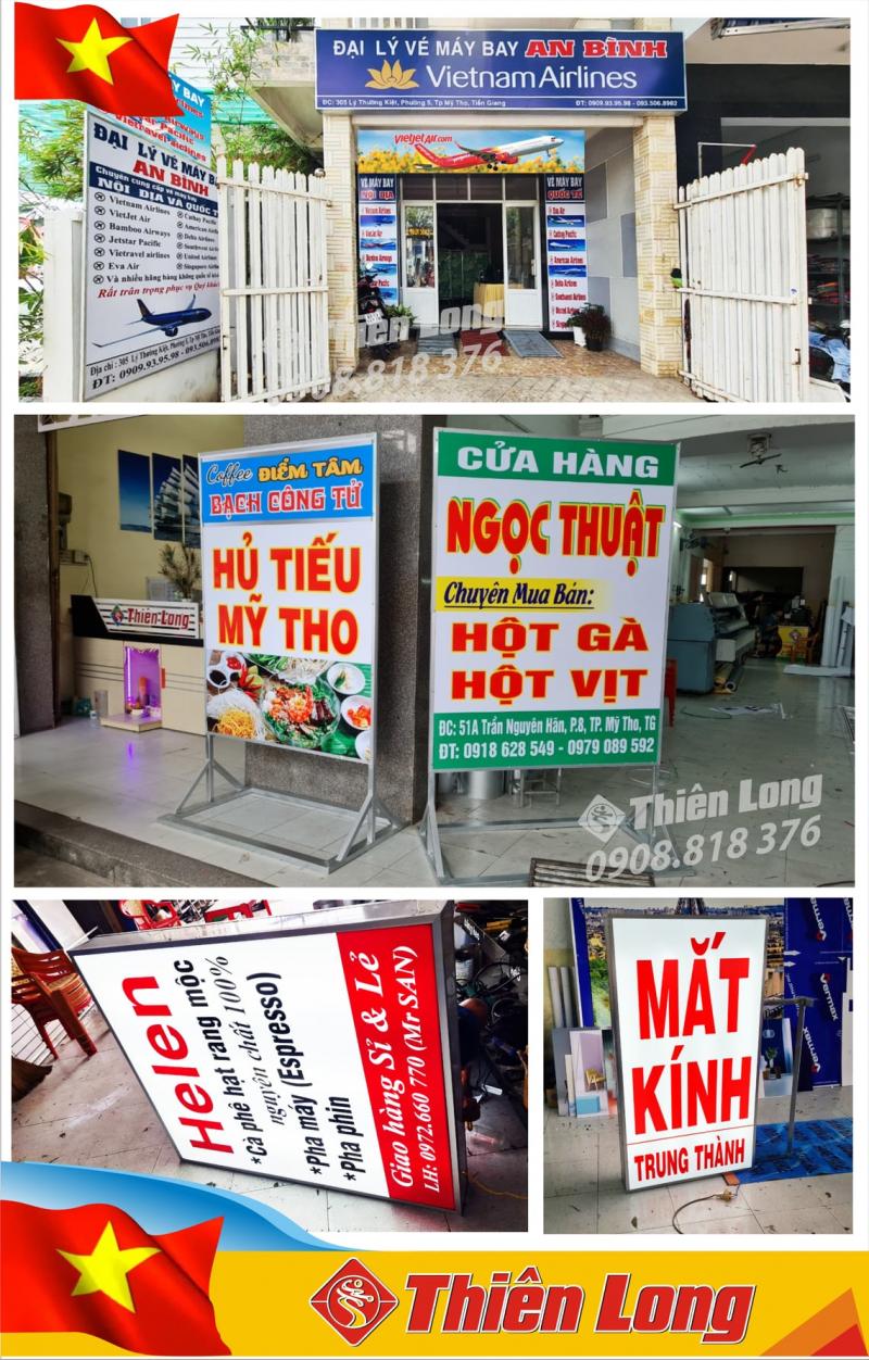 Quảng Cáo Thiên Long Tiền Giang