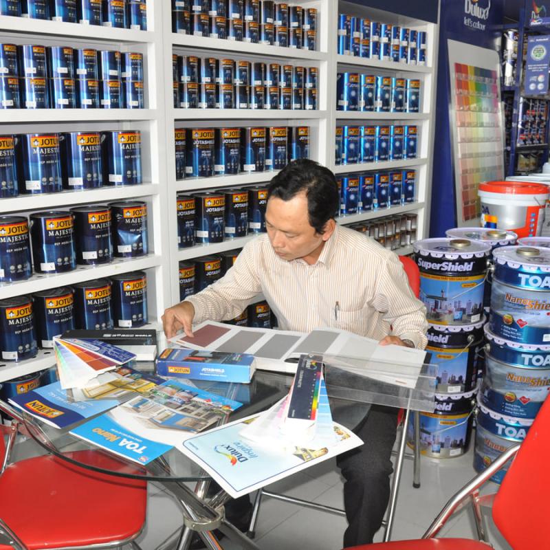 Showroom nước sơn ANDY