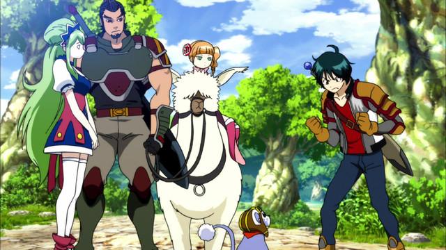 Thế Giới Ảo – Ixion Saga Dimensional Transfer