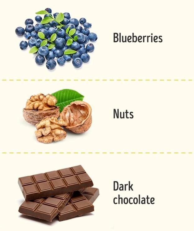 Thực phẩm tốt cho chức năng não bộ