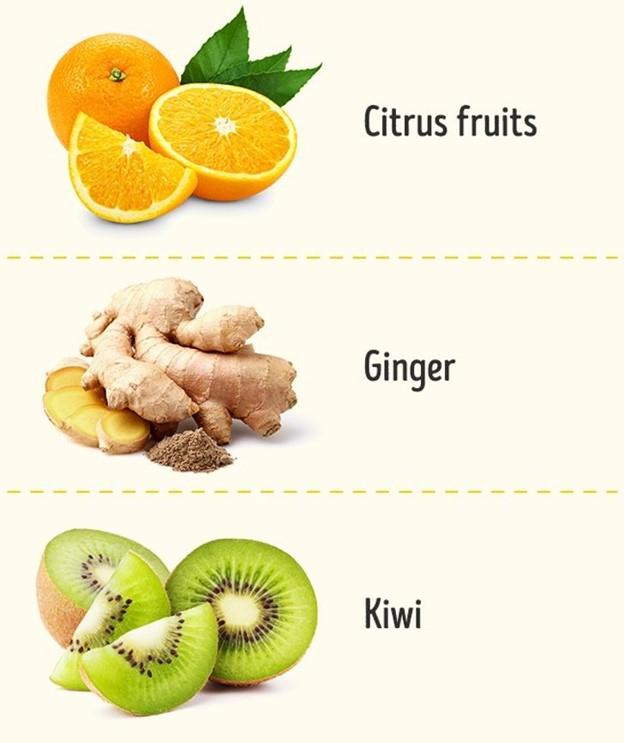 Thực phẩm tốt cho hệ thống miễn dịch