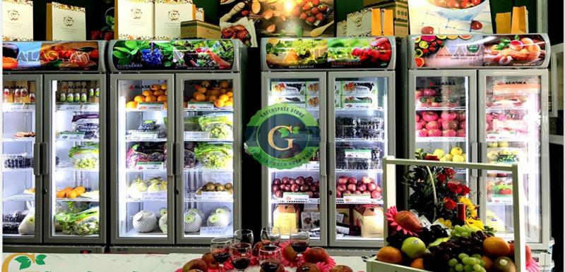 Thương hiệu trái cây nhập khẩu GreenSpace Store
