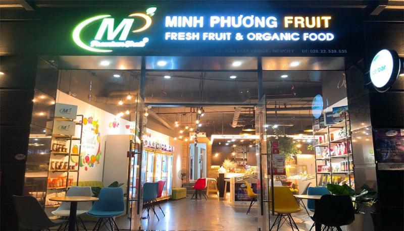 Thương hiệu trái cây nhập khẩu Minh Phương Fruits