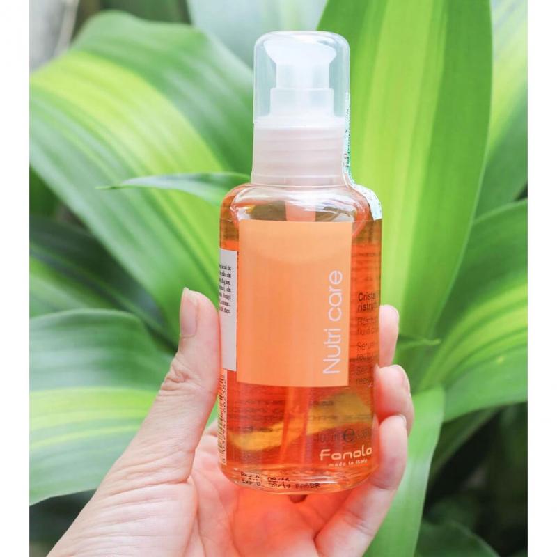 Tinh dầu dưỡng tóc Nuti Care Restructuring Fluid Crystals
