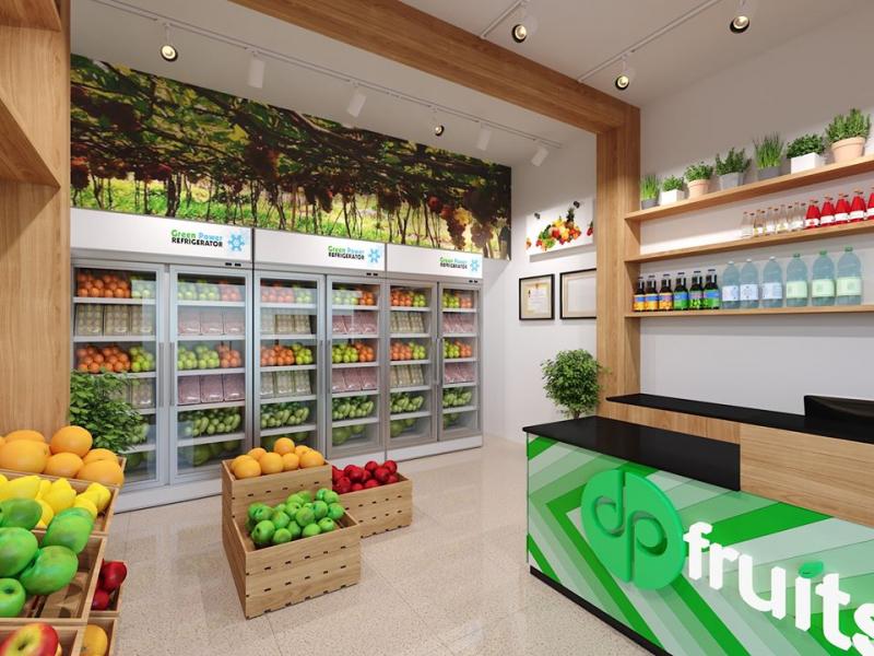 Trái cây nhập khẩu cao cấp DP Fruits
