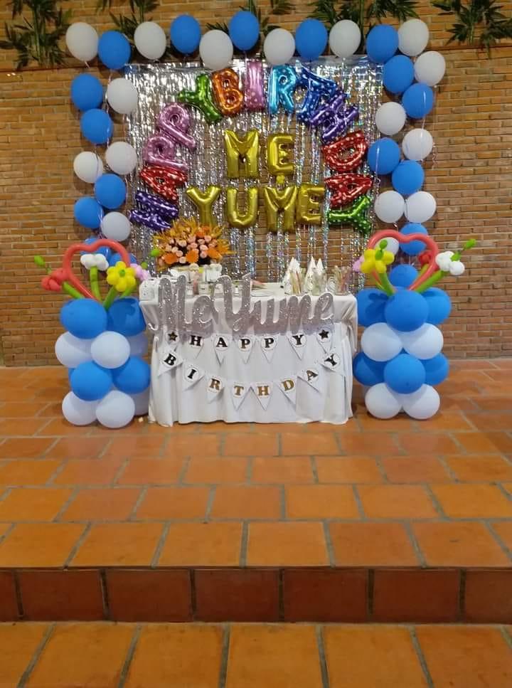 Trang trí sinh nhật Ninh Thuận